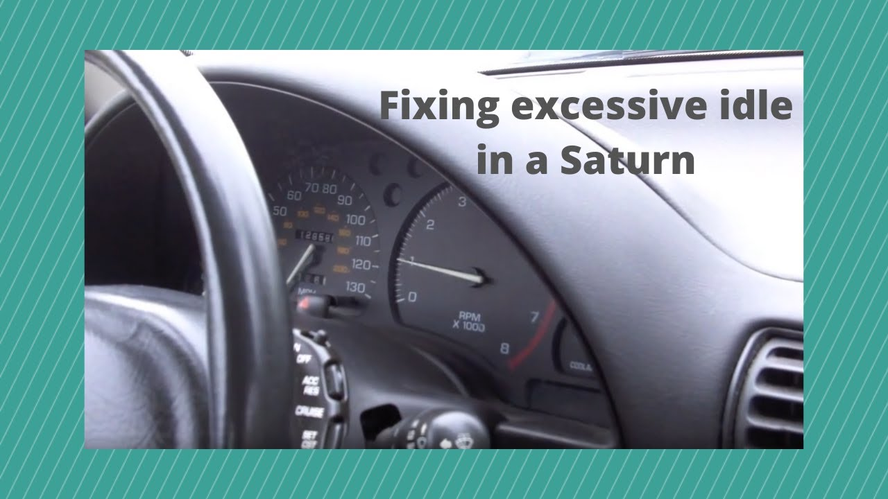 Purge Control Valve >> Saturn Idle problem.mov - YouTube