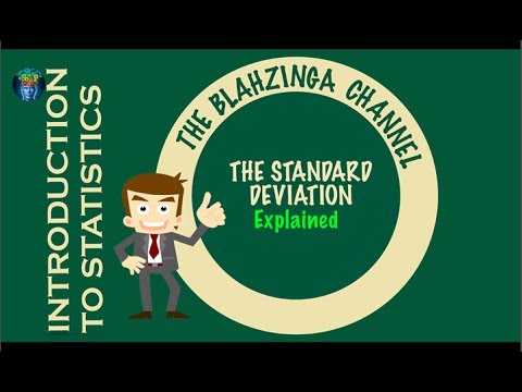 The Standard Deviation explained