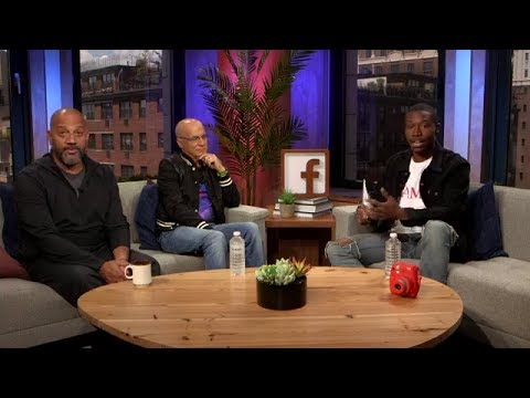 Director of The Defiant Ones HBO's Jimmy Iovine and Allen Hughes live video from facebook