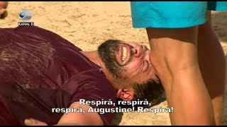Survivor - Imaginile durerii! Augustin, luat de ambulanta! Mihai a sarit la gatul Razboinicilor