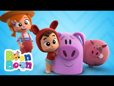 Lea si Pop – Cantecul purcelusilor – Cantece cu animale pentru copii | BoonBoon – Cantece pentru copii in limba romana