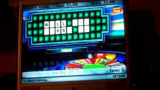 Wheel of Fortune gameplay (PC)