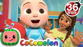 First Day of School + More Nursery Rhymes & Kids Songs - CoCoMelon thumbnail