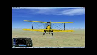 Recreation of the flying scene from Out of Africa on FSX