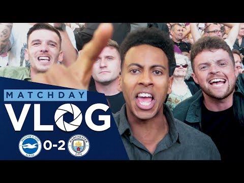 """WE'VE GOT GUARDIOLA!""   Brighton 0-2 Man City   AWAY DAY VLOG"