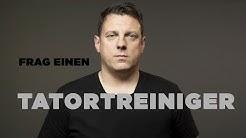 FRAG EINEN TATORTREINIGER |Thomas über einen Job, der auf den Magen und unter die Haut geht