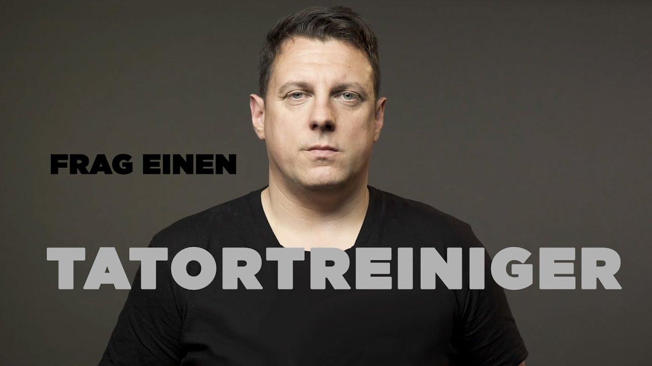 FRAG EINEN TATORTREINIGER | Thomas über einen Job, der auf den Magen und unter die Haut geht