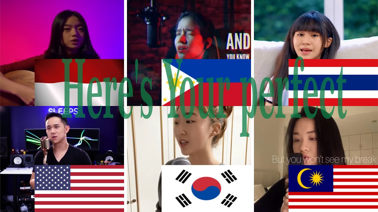 Download Who Sang It Better : Here's You perfect (Filiphina,Malaysia, INDONESIA,S-Korea,U.S.A,Thailand)
