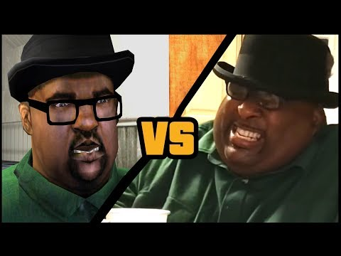Big Smoke vs BadlandsChugs (SFM Animation)