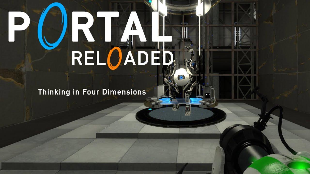 Portal Reloaded - Eastereggs [so far] - YouTube