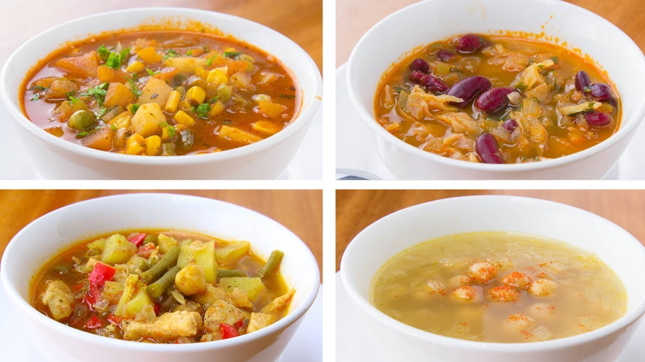 4 Healthy Soup Recipes For Weight Loss Easy Soup Recipes