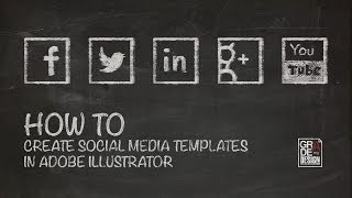 Illustrator Tutorial: How to Create Social Media Templates