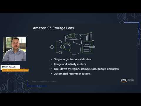 Amazon S3 Storage Lens: Organization-wide visibility into object storage usage and activity trends