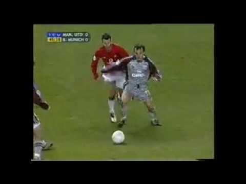 Ryan Giggs vs Bayern Munich Home 2001-2002