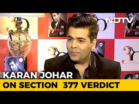 """Country Gets Oxygen Back,"" Tweets KJo On Section 377"