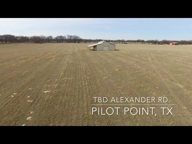 30 Acres in Pilot Point, Tx
