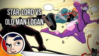 Star-Lord V Old Man Logan & Bank Robbery - Complete Story