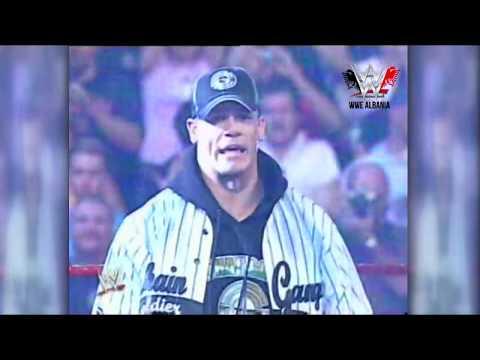John Cena Vs Kurt Angle / Koment SHQIP (Rare Video)