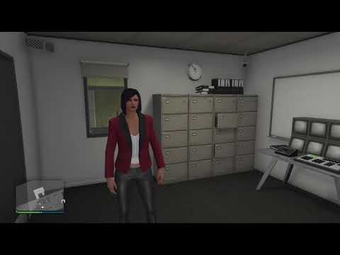 GTA V Online Smuggler's Run Office and Living Quarters Designs