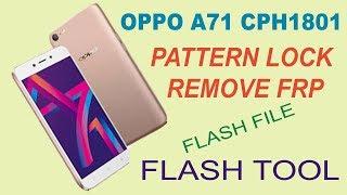 Oppo A71 Forgot Pattern
