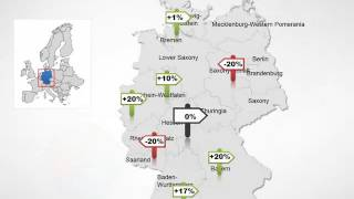 Germany maps - Editable Germany PowerPoint maps
