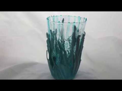 How to Create a Resin Vase Demonstration Easy Tutorial