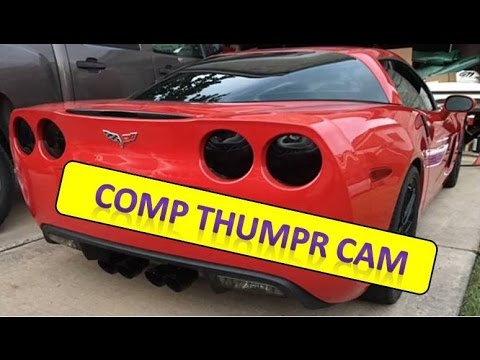 c6 ls2 corvette thumpr cam heads corsa youtube. Black Bedroom Furniture Sets. Home Design Ideas