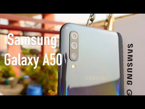 Samsung Galaxy A50 Unboxing & Overview - Camera Smartphone?