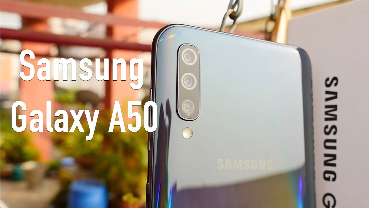 Samsung Galaxy A50 Unboxing & Overview - Camera Smartphone ...