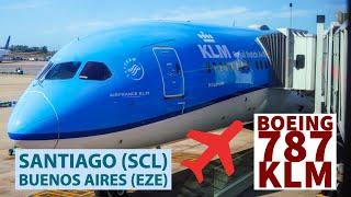 Boeing 787-9 KLM Recorrida total - bautismo en Buenos Aires
