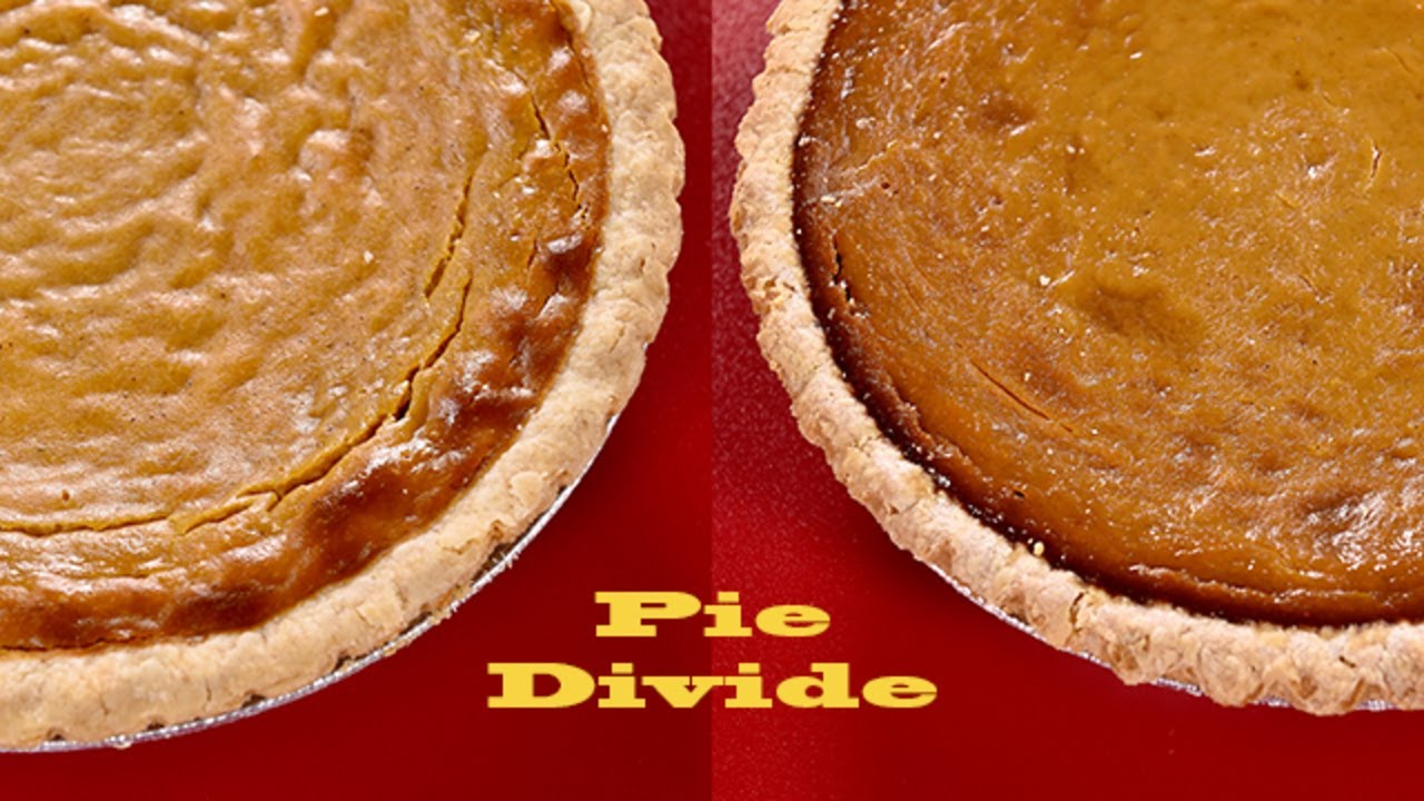 Sweet Potato Or Pumpkin Pie Which Side Are You On Youtube
