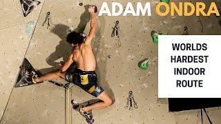 Adam Ondra on The Black Diamond Project - Worlds hardest indoor route