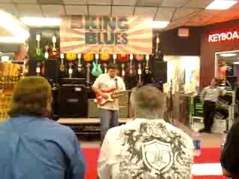JARRETT JOHNSON-GUITAR CENTER KING OF THE BLUES WINNER 2010