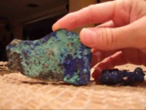 Crystal Healing with Azurite