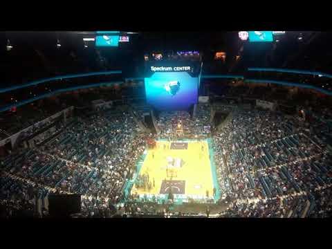 Charlotte Hornets Intro 2017 Home Opener
