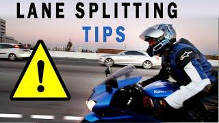 Motorcycle Q&A: How to lane splitting or whiteline