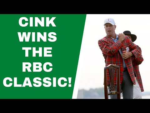 Stewart Cink wins RBC Heritage Classic - 10,000 Swings Podcast!