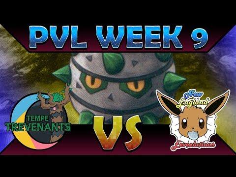 birb seed | New England Eeveelutions vs Tempe Trevenants | PVL Week 9