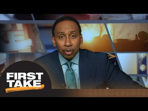 Stephen A. Smith Wants Knicks To Draft Trae Young | First Take | ESPN
