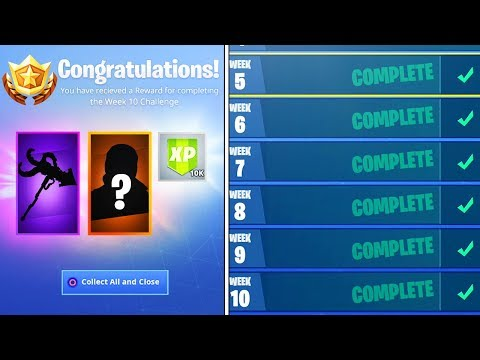 What happens when you FINISH ALL Week Challenges in Fortnite! (NEW SEASON 7 REWARDS UNLOCKED) thumbnail