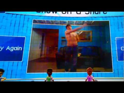 Kinect Naked Dance Party