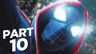 SPIDER-MAN MILES MORALES PS5 Walkthrough Gameplay Part 10 - 2099 SUIT (Playstation 5)