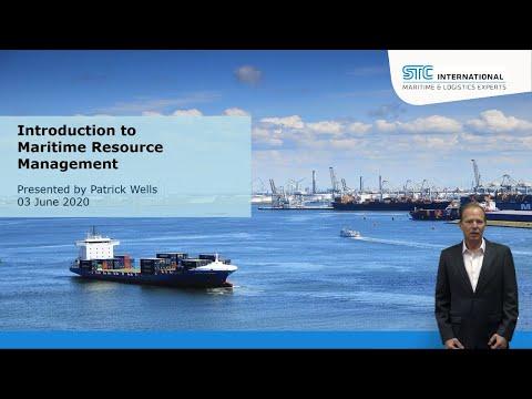STC International Webinar | Introduction to Maritime Resource Management