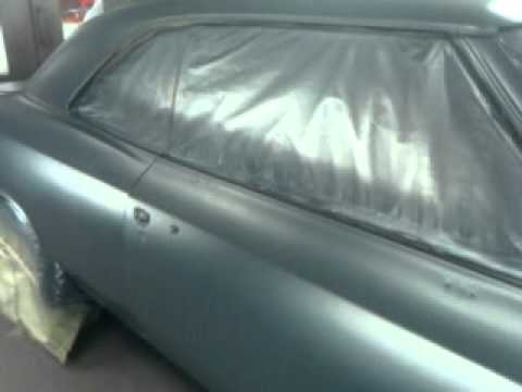 Veazy gives overall look after spraying sealer
