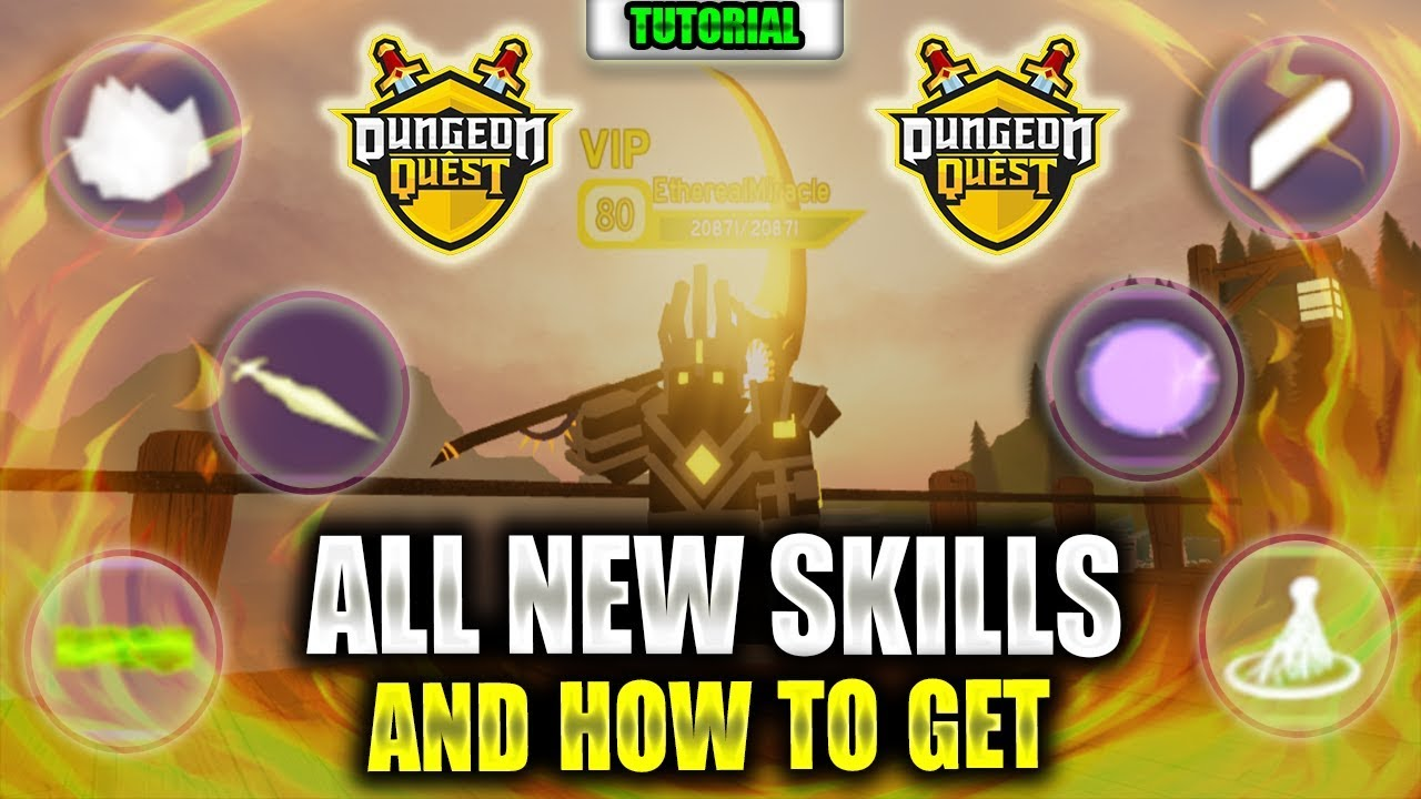 All King Castle Skills And Where To Get Them Roblox Dungeon Quest Youtube