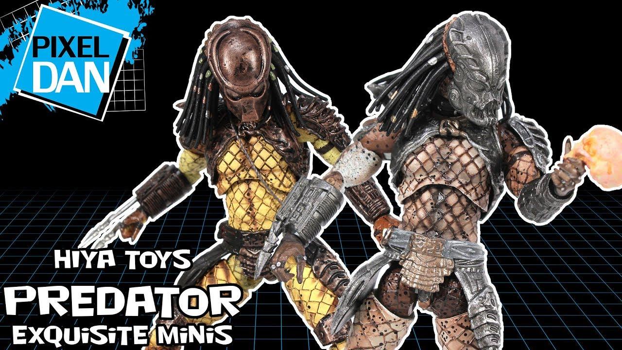Hiya Toys Exquisite Predator 2 Set of 6 CITY HUNTER GUARDIAN ELDER WARRIOR BOAR