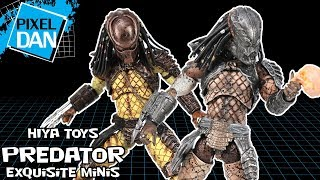 Predator 2 Exquisite Minis City Hunter & Guardian Predator Hiya Toys 1:18 Figures Video Review