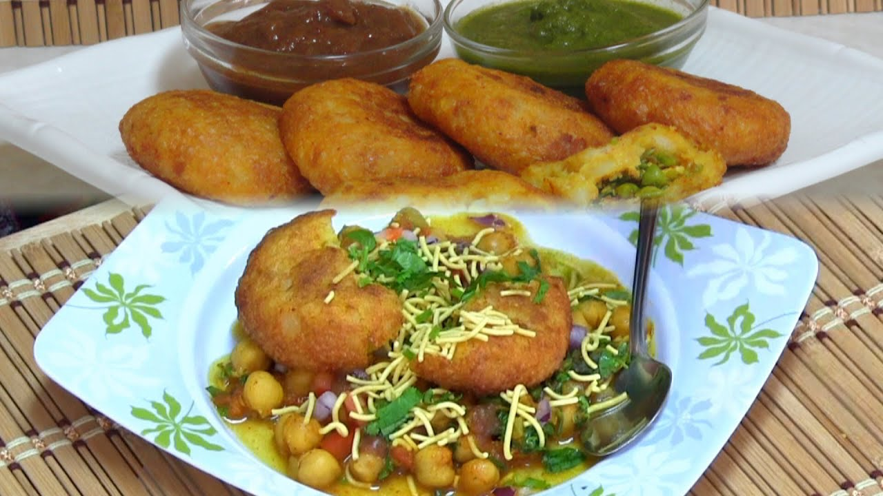 Chole tikki chaat recipe video by bhavna indian street food chole tikki chaat recipe video by bhavna indian street foodsnacks collaboration youtube forumfinder Image collections