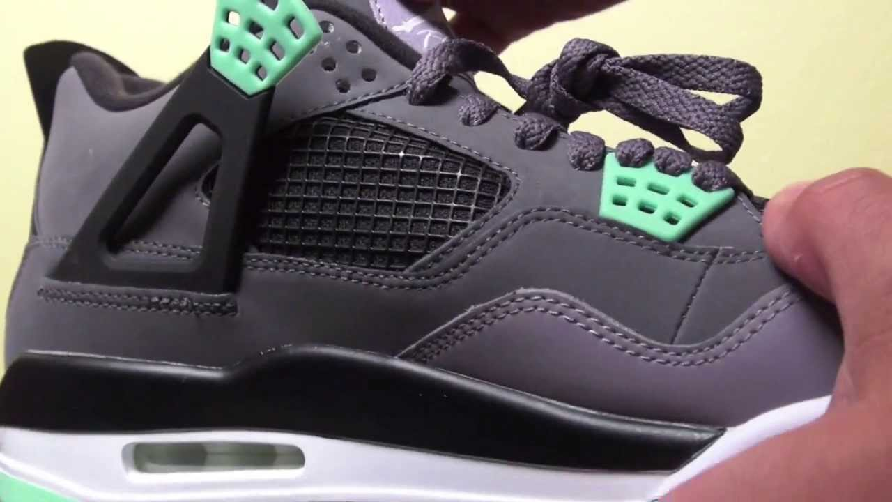 sports shoes 30963 7c056 Air Jordan 4 (IV) Green Glow 2013 Retro