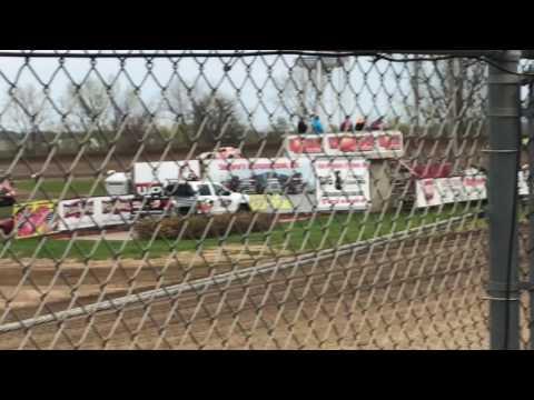 John Watson Sport Mod Heat Race Marshalltown Speedway 4/21/17